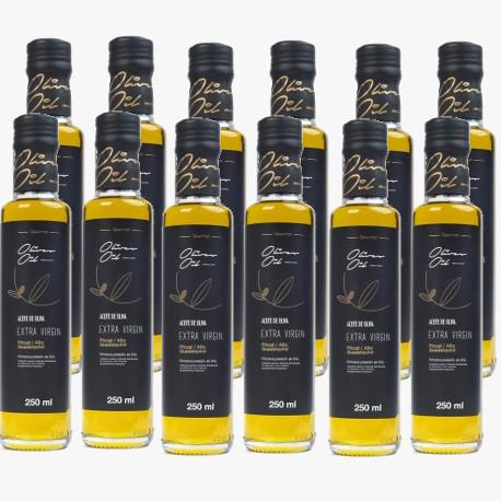 12 botellas Aceite de Oliva 0,25L
