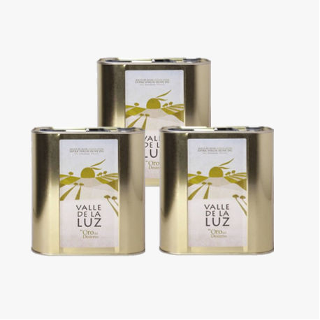 3 latas Aceite de Oliva 2,5L