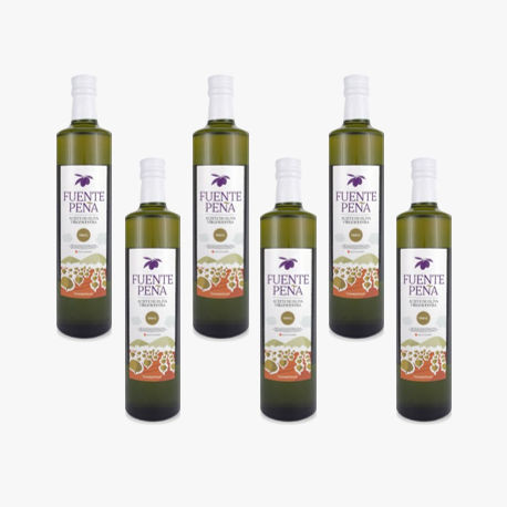 6 botellas Aceite de Oliva Virgen Extra BIO 500ml